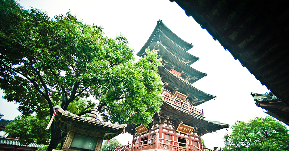 Hanshan Temple in Suzhou, China